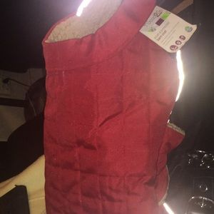 L/xl red thinsulate dog coat